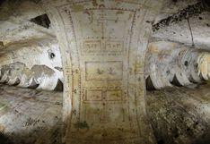 Descubren una sala con frescos del palacio imperial de Nerón de dos mil años de antigüedad en Roma
