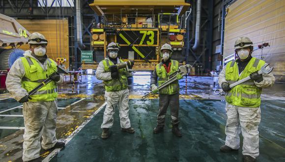Trabajadores de la Compañía Minera Antapaccay participaron en la encuesta de clima laboral que midió liderazgo, calidad de vida, capacitaciones, seguridad, trabajo en equipo, familiaridad, reputación, trato justo y comunicación, entre otros puntos.