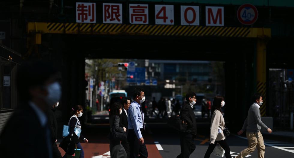 Japón se prepara para una extensión del estado de emergencia sanitaria. (CHARLY TRIBALLEAU / AFP).