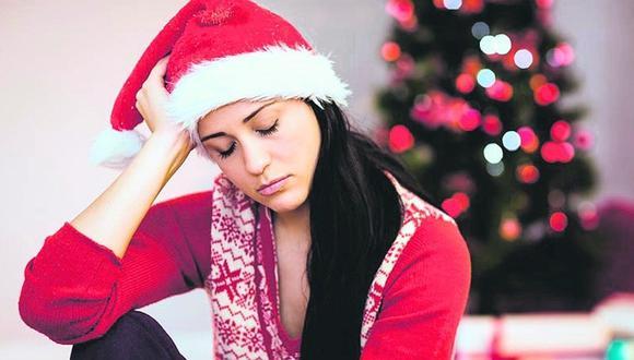 La depresión en Navidad. (Referencial Getty Images)
