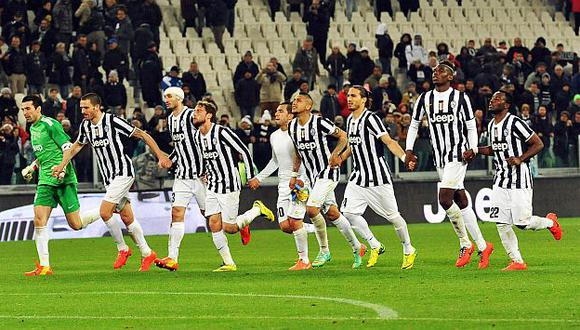 Juventus mantiene vivo el sueño de alzar el título de la Liga de Europa. (EFE)