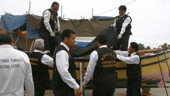 A bordo de la nave iban seis pescadores, cuatro de ellos se salvaron. (USI/Referencial)