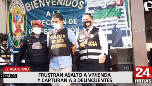 Los sujetos fueron identificados como Mario de la Vega Flores (41), David Ríos Carrera (54) y Almendra de la Cruz (27). (Foto: 24 Horas)