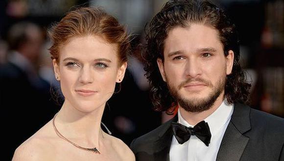 'Game of Thrones': Kit Harington y Rose Leslie confirman su romance. (vogue.es)