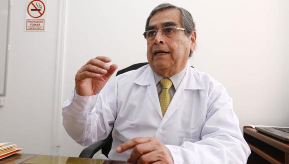 Oscar Ugarte, ministro de Salud. (Foto: GEC)