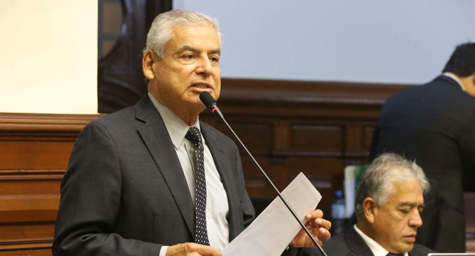 Villanueva habría recibido dos montos de US$30 mil de Odebrecht. (Foto: Congreso)