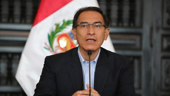 """""""El verdadero regalo es brindarles el respeto y la igualdad que se merecen"""", comenta Vizcarra. (DIFUSIÓN)"""