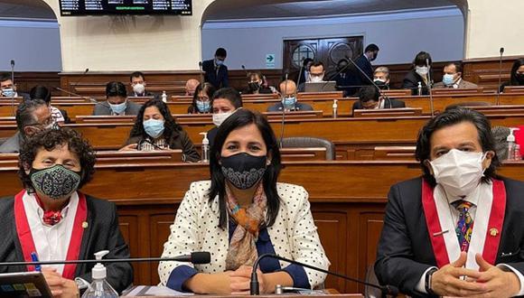 El Partido Morado obtuvo tres representantes en el Congreso de la República para el periodo 2021-2026. (Foto: Bancada Morada)