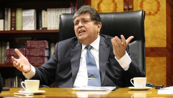 Alan García se pronunció a través de las redes sociales.