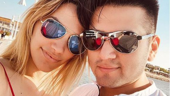Vocalista del Grupo Néctar y Cassandra Sánchez de Lamadrid tienen un romance. (Instagram)