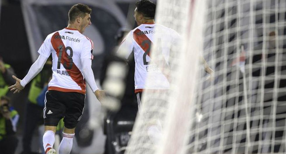 El equipo 'millonario' enfrentará en la próxima fase del certamen a Atlético Mineiro o Jorge Wilstermann. (AFP)