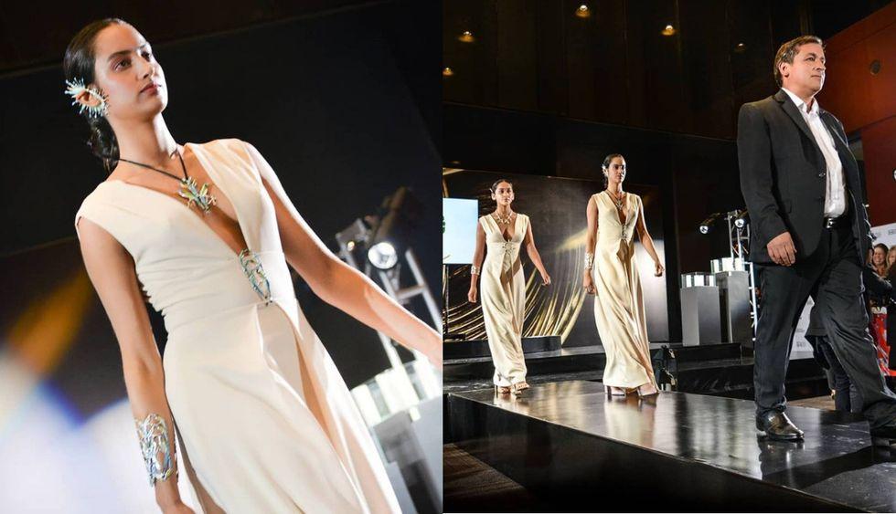 Hurtado presentó su colección hace unos días en el Bogotá Fashion Week. (Fotos: Difusión)