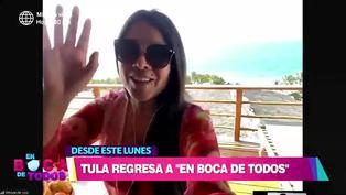 """Tula Rodríguez confirma que regresa a """"En boca de todos"""": """"El dolor no se va, pero es un nuevo inicio"""""""