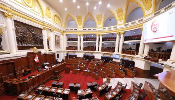 La cuestión de confianza que se debate hoy en el Congreso, fue planteada por el presidente Pedro Castillo (Foto: Andina)