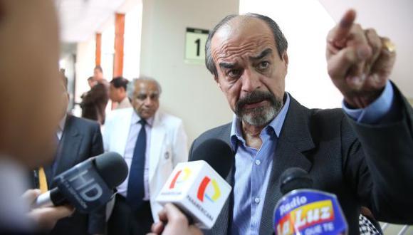 Mulder aseguró que sus colegas apristas de la bancada Concertación Parlamentaria no darán el voto de confianza a Jara. (Luis Gonzales)
