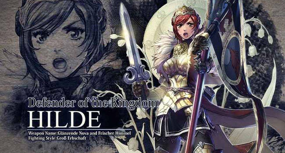 Bandai Namco anunció la próxima llegada de 'Hilde' a 'Soul Calibur VI'.