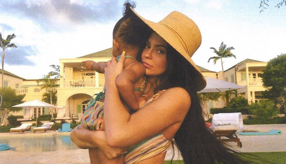 Así bromeó Kylie Jenner con foto de su hija durante visita a un acuario. (Foto: kyliejenner)