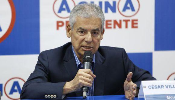 César Villanueva opinó sobre la decisión de Ollanta Humala de no promulgar el Tratado con Francia. (Perú21)