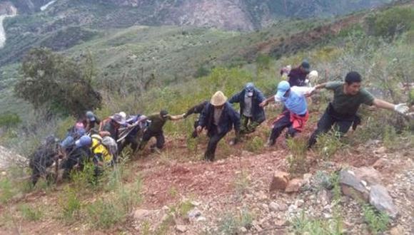 Entre los heridos hay un niño de 9 años. (Foto: Andina)