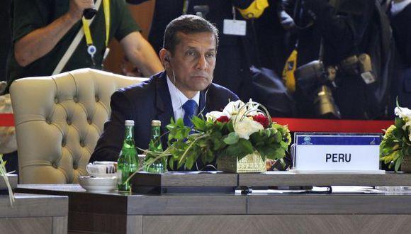 APUESTA CIENTÍFICA. Humala reveló en Tailandia su proyecto de nuevo ministerio. (Andina)