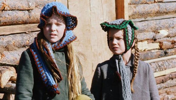 Melissa Gilbert como Laura Ingalls, Melissa Sue Anderson como Mary Ingalls (Foto: Banco de fotos de NBCU)