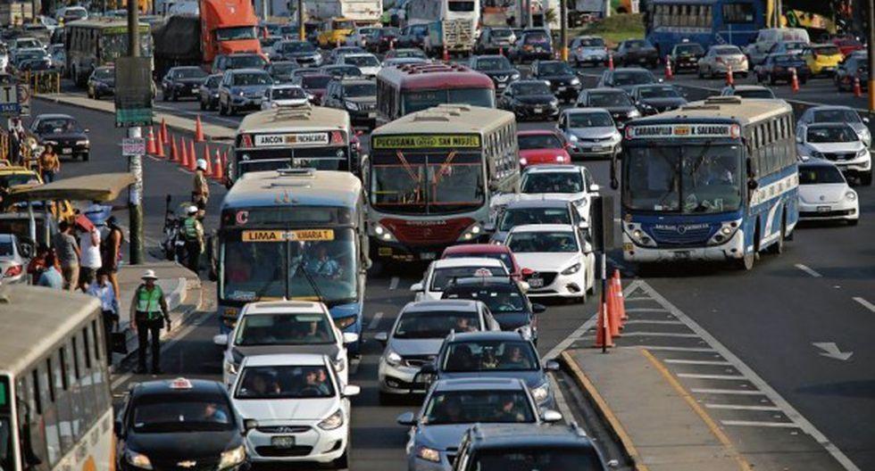 Desde mañana se pondrá en marcha la restricción vehicular. (Foto: GEC/Archivo)