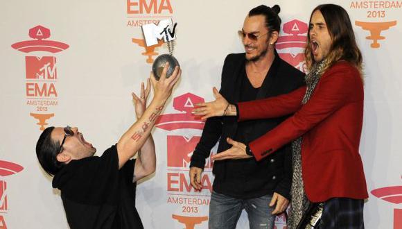 Thirty Seconds To Mars tocará en Lima. (AFP)