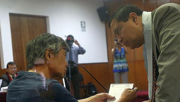 Alberto Fujimori: Su abogado saluda que dicte directivas desde la prisión. (César Fajardo)