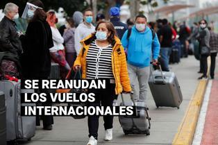 Conoce los detalles de la reactivación de vuelos internacionales en el Perú