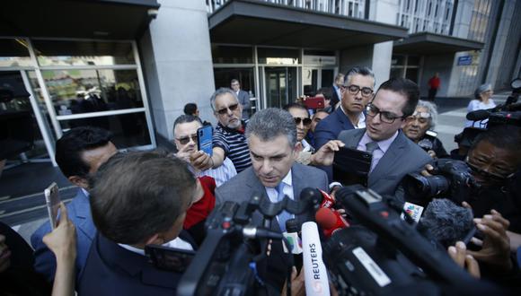 El fiscal superior Rafael Vela Barba evitó comentar sobre la estrategia de la fiscalía de EE.UU. para el caso Alejandro Toledo. (Foto: Mario Zapata / GEC)
