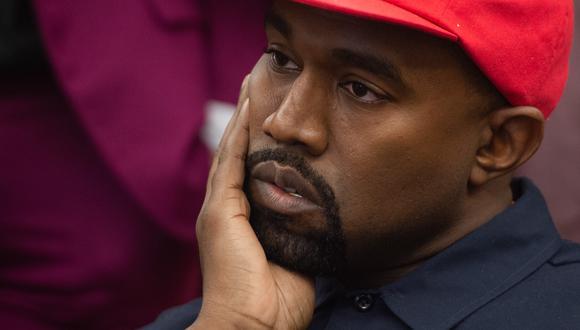 Kanye West es demandado por 800 empleados que le exigen 30 millones de dólares. (Foto: AFP)