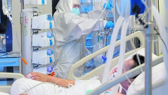 Nuevo reporte del avance del coronavirus en el país. (Foto: EFE/Referencial)