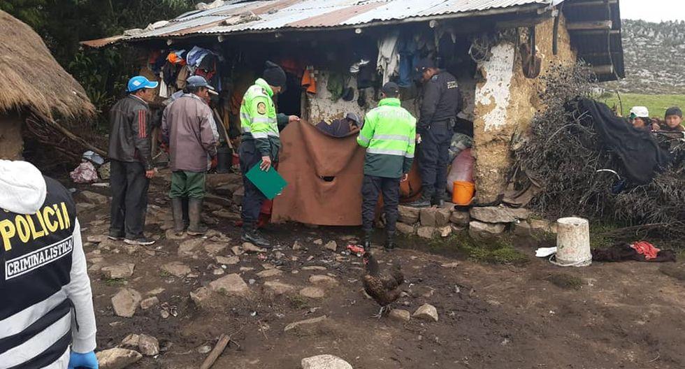 Vivienda donde la familia fue acribillada. (Foto: Facebook)