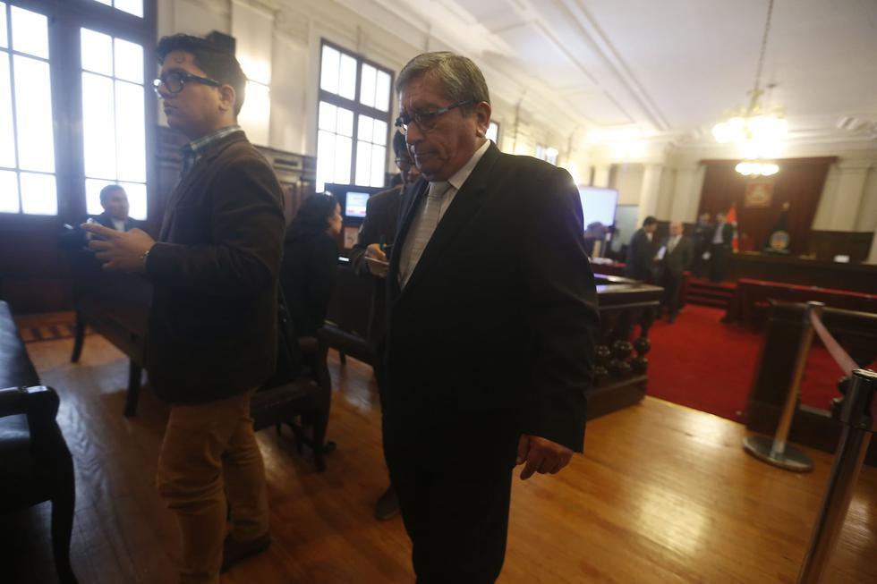 Al ex miembro del Consejo Nacional de la Magistratura (CNM) se le investiga por cohecho pasivo específico en agravio del Estado. (Mario Zapata)