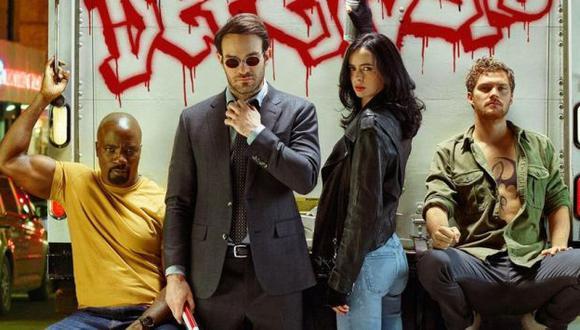 Luke Cage, Daredevil, Jessica Jones y Iron Fist son The Defenders, la nueva serie de Netflix (Entertainment Weekly).