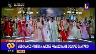 India: Artistas de Bollywood se refugian en Dubai ante crisis sanitaria