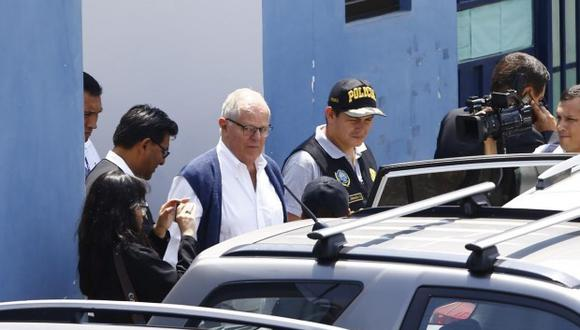 El expresidente PPK ya había sido internado en una clínica en agosto pasado. (Foto: GEC)