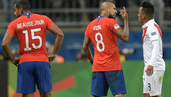 Perú vs. Chile chocan el próximo 13 de noviembre en Santiago. (Foto: AFP)