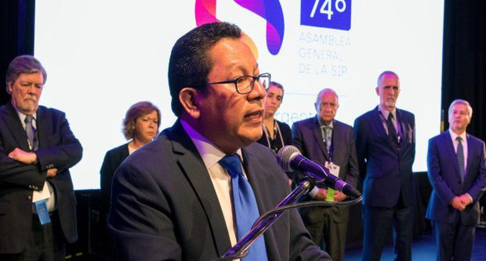 Miguel Mora, director y propietario del canal 100 % Noticias, en Nicaragua, habría sido detenido injustificadamente. (Foto: EFE)
