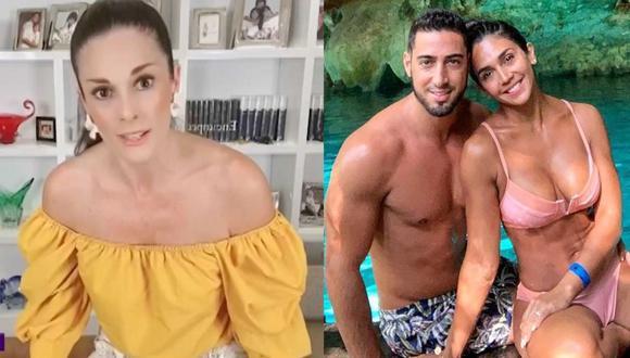 """Rebeca Escribens a Vania Bludau tras ruptura con Frank Dello Russo: """"Tenías mucho polvo debajo de la alfombra"""". (Foto: Composición)"""