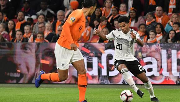 Alemania vs. Holanda: chocan por las Eliminatorias rumbo a la Eurocopa 2020. (Foto: AFP)