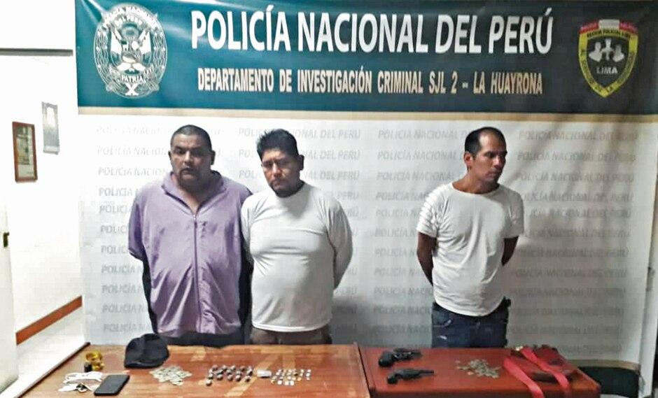 Mafia cobraba 'peaje' a choferes en Gamarra.