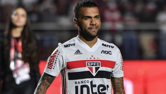 Dani Alves es jugador de Sao Paulo desde agosto del 2019. (Foto: Sao Paulo)