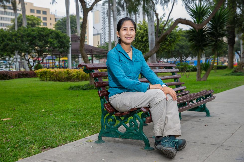 """Valia Herrera, bióloga: """"En el Perú hay zonas que no se han explorado por diversos motivos. Hay muchísimo por hacer"""".  (Foto: Allen Quintana)"""