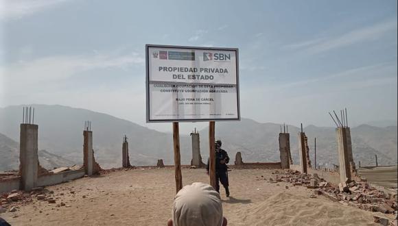 SBN recuperó cerca de un millón y medio de m2 de terrenos del Estado en Lima, Ica y Piura
