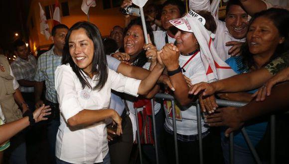 Nadine Heredia hará gira nacional como presidenta del Partido Nacionalista. (César Fajardo)