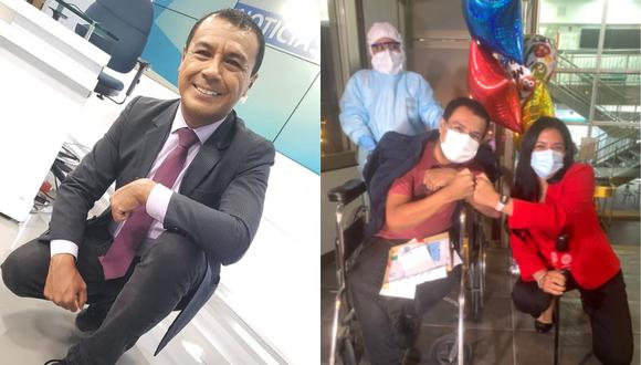 Jimmy Chinchay venció el coronavirus. (Foto: @jimmychinchay/@stepjauz)