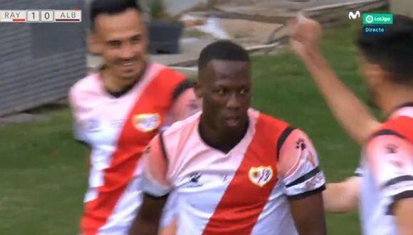 El golazo de Luis Advíncula en el Rayo Vallecano vs. Albacete. (Foto: Movistar / Video: Peruano en el Mundo)