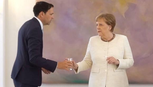 Merkel había tratado de restar importancia la semana pasada a las especulaciones desatadas sobre su estado de salud. (Foto: EFE)