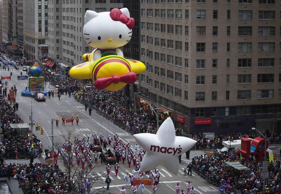 Desfile de Macy's recorre calles de Nueva York. (Reuters)